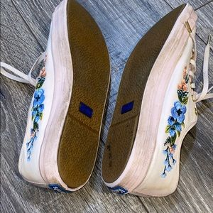 Keds Shoes - Floral Embroidered Keds
